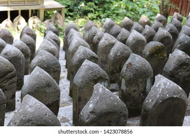 Many Jizo of Kudo-ji Temple in Japan