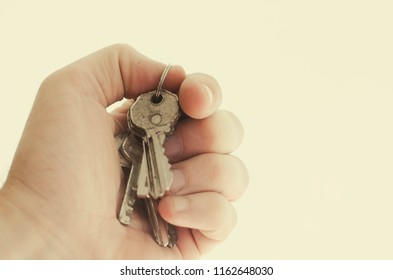 many keys in the background