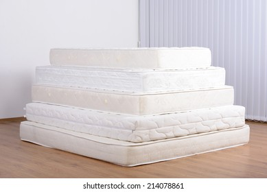 pile of mattresses. exellent mattresses many mattress in a pyramid the room intended pile of mattresses e