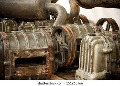 many pumps are awaiting repair