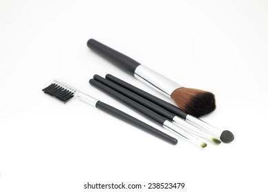 Many size black make up brush