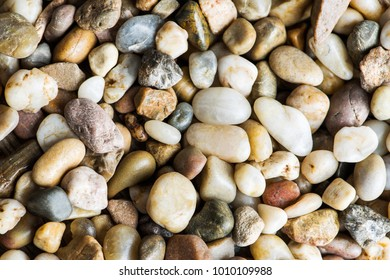 Many small stones forming a background