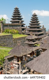 Many tiered roofs of Besakih temple.