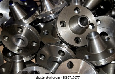 Many weld neck flanges steel industry fittings industry parts for stainless steel hoses