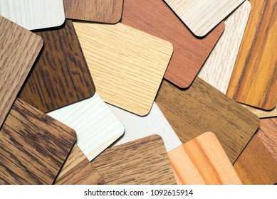 many wooden samples forming a full frame texture or background