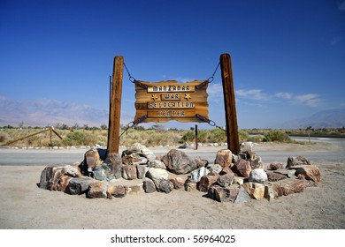 Manzanar National Historic Site in the state of California