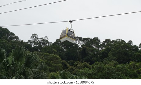 Maokong Gondola is the first gondola system in Taipei City