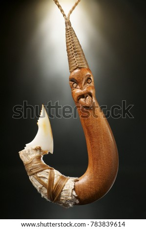 Maori Symbol Pendant Hei Matau Fishhook Stock Photo Edit Now