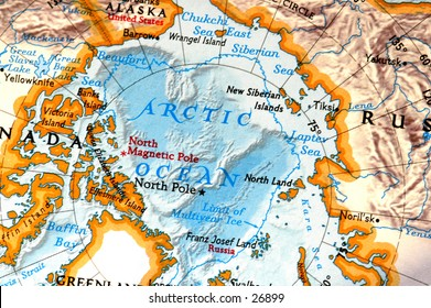 North Pole Map Images, Stock Photos & Vectors   Shutterstock