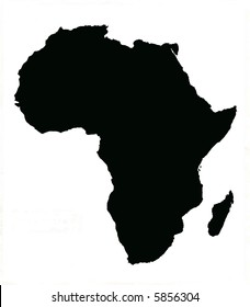 Map of Africa and Madagascar
