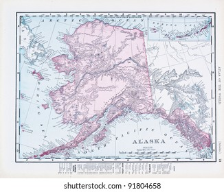 Alaska Map Images, Stock Photos & Vectors | Shutterstock