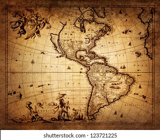 map of America 1690.