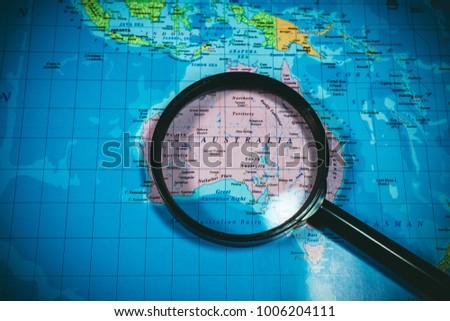 Australia Underwater Map.Map Australia Stock Photo Edit Now 1006204111 Shutterstock