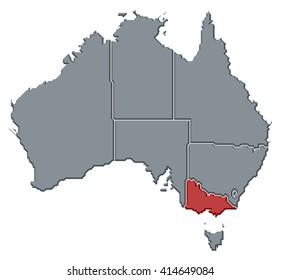 map australia victoria