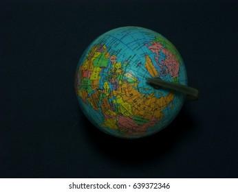 map ball