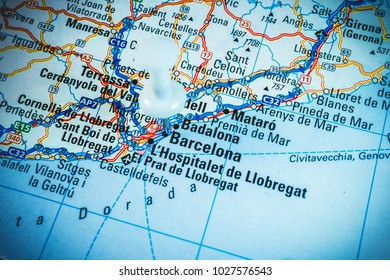 Road Map Spain Images Stock Photos Vectors Shutterstock
