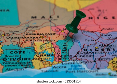 Benin Map Images Stock Photos Vectors Shutterstock