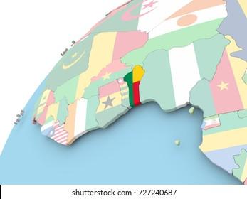 Benin Map Images Stock Photos Vectors Shutterstock