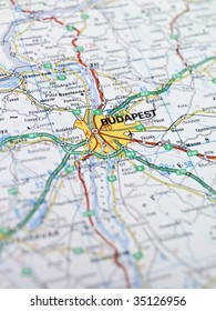 Map of Budapest