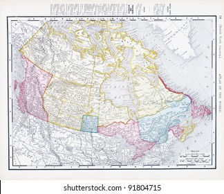 Map Of Canada 1900.Canada Map Provinces Stock Photos Images Photography Shutterstock