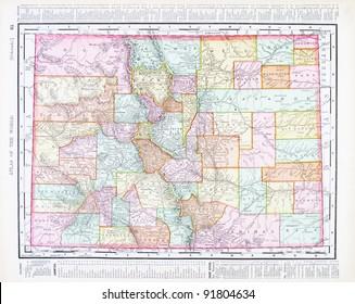 Colorado Map Images, Stock Photos & Vectors | Shutterstock
