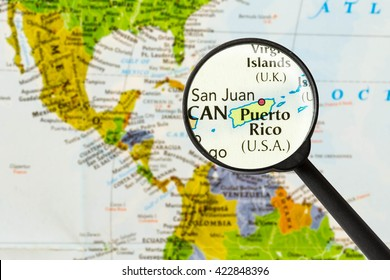 Puerto Rico World Map Stock Photos, Images & Photography | Shutterstock