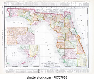 Vintage Florida Map.Royalty Free Vintage Florida Map Images Stock Photos Vectors