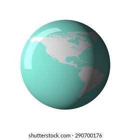 Map, globe