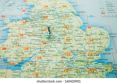 Map Of England Midlands.England Midlands Map Stock Photos Images Photography Shutterstock
