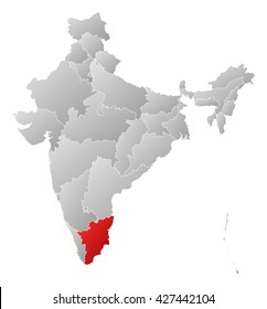 Tamil nadu map images stock photos vectors shutterstock map india tamil nadu gumiabroncs Choice Image