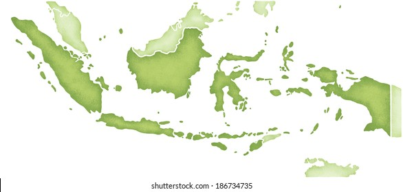 Indonesia map imgenes fotos y vectores de stock shutterstock map of indonesia gumiabroncs