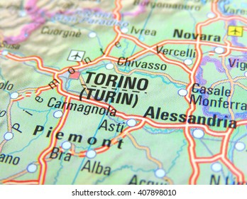 Map Of Italy Torino.Turin Map Stock Photos Images Photography Shutterstock
