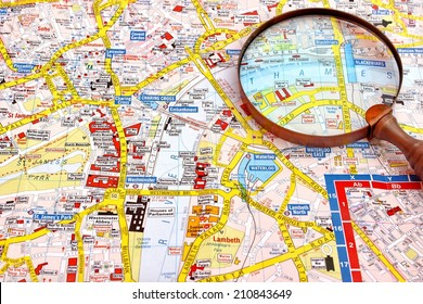 Map Of London Centre.Map Of London Centre Stock Photos Images Photography Shutterstock