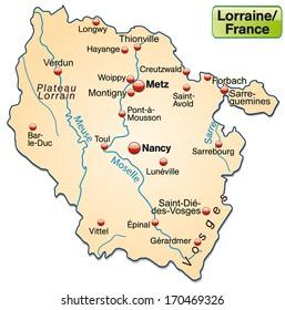 Botswana Political Map Capital Gaborone National Stock Vector