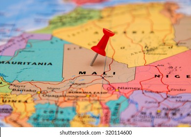 Mali Map Images, Stock Photos & Vectors | Shutterstock