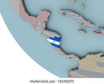 Nicaraguan Map Stock Images RoyaltyFree Images Vectors