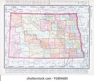Royalty Free North Dakota Map Images, Stock Photos & Vectors ...