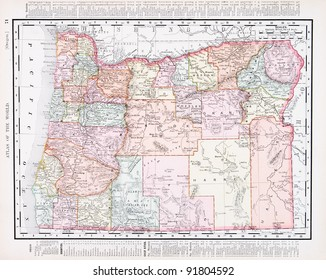 Oregon Map Images, Stock Photos & Vectors | Shutterstock