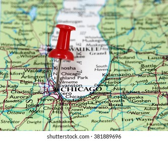 Chicago Point Map Images, Stock Photos & Vectors | Shutterstock on