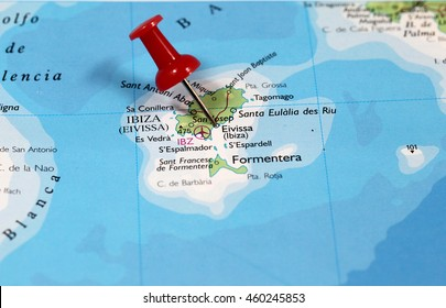 Ibiza On World Map.Ibiza Map Images Stock Photos Vectors Shutterstock