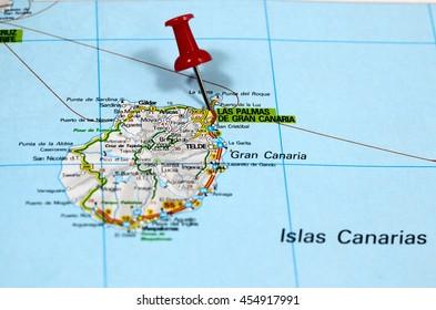 Bilder Stockfoton Och Vektorer Med Gran Canaria Map Shutterstock