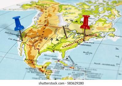 United States Map Elevation Stock Photos, Images & Photography ...