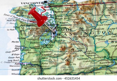Wa State Map Stock Photos, Images & Photography | Shutterstock