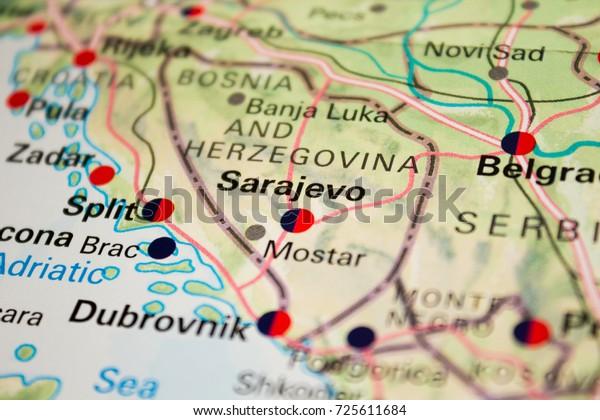 Map Sarajevo Bosnia Herzegovina 2017 Stock Photo (Edit Now ... on ww1 map, amsterdam netherlands map, bosnia and herzegovina map, bratislava slovakia map, bosnia location on map, vladivostok russia map, tirana albania map, slovenia bosnia map, damascus syria map, stockholm bosnia map, lukavac bosnia map, bosnia genocide map, europe bosnia map, bosnia on world map, pristina kosovo map, livno bosnia map, surviving the killshot map, zurich switzerland map, syrian land use map, blagaj bosnia map,