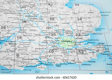 Map Of Southern England Uk.South East Uk Map Images Stock Photos Vectors Shutterstock