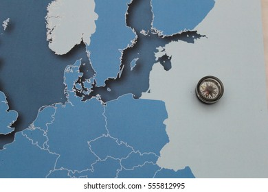 Map - Stock Image