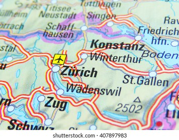 Switzerland Location Map Images, Stock Photos & Vectors ...