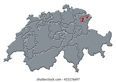 Canton Of Appenzell Ausserrhoden Stock Images RoyaltyFree Images