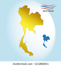 map thailand bs Design