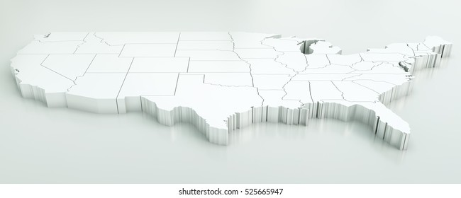 3d Map Of Us.Usa Map Images Stock Photos Vectors Shutterstock